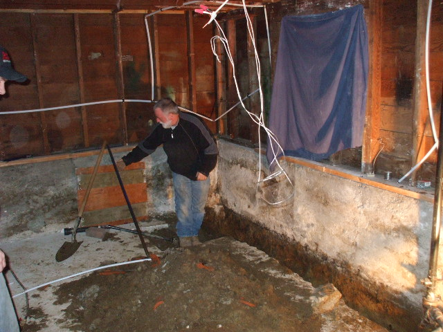 master vancouver bc wet basement no dig sewer and water lines